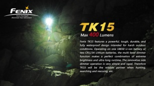 Фонарь Fenix TK15 Cree XP-G2 R5 LED