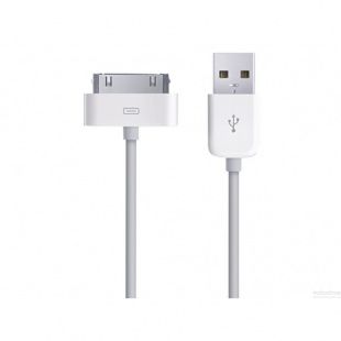 USB кабель 1 метр для iPhone 4 / 4S классический 30-pin to USB cable MA591FE/C