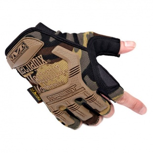 фото Перчатки Mechanix M-pact Fingerless Camo