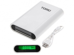 Tomo M4 smart power bank 4x18650 White