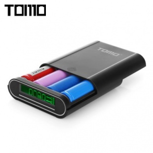 Tomo M4 smart power bank 4x18650 Black